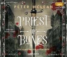 Peter McLean: Priest of Bones, 2 MP3-CDs