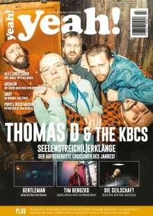 yeah! - Das Magazin für Pop- und Rockkultur. Ausgabe #1 (Juli/August/September 2021), Zeitschrift