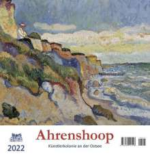 Ahrenshoop 2022 Postkartenkalender, Kalender