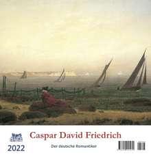 Caspar David Friedrich 2022 Postkartenkalender, Kalender