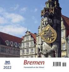 Bremen 2022 Postkartenkalender, Kalender