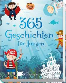 365 Geschichten für Jungen, Buch