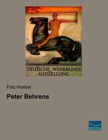 Fritz Hoeber: Peter Behrens, Buch