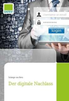 Solange van Rens: Der digitale Nachlass, Buch