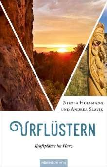 Nikola Hollmann: Urflüstern - Kraftplätze im Harz, Buch