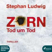 Stephan Ludwig: Zorn 9 - Tod um Tod, 2 CDs