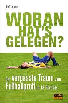 Olaf Jansen: Woran hat's gelegen?, Buch