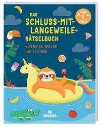 Elizabeth Golding: Das Schluss-mit-Langeweile-Rätselbuch, Buch