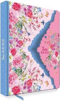 Trötsch Schülerkalender mit Klappe Flower 2020/2021, Buch