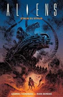 Gabriel Hardman: Aliens: Staub zu Staub, Buch