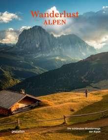 Wanderlust Alpen, Buch