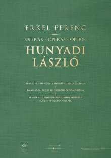 Ferenc Erkel: Operák - Operas - Opern. Hunyadi László, Buch