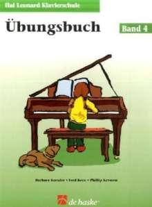 Barbara Kreader: Hal Leonard Klavierschule Übungsbuch 04, Noten