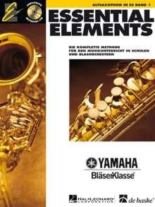 Essential Elements 01 für Altsaxophon, Noten