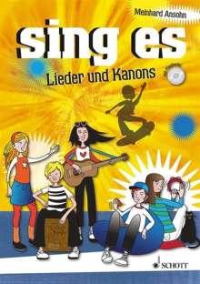 Meinhard Ansohn: sing es, Noten
