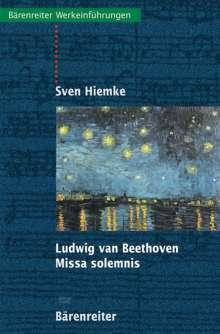 Ludwig van Beethoven. Missa solemnis, Buch