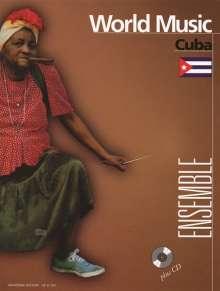 Graf, Richard; Filz, Richard: Cuba für Ensemble in variabler Besetzung ( 2 Melodieinstrumente (C,B), Klavier, Gitarre,Bass (Kontrabass/ E-Bass), Percussion für Ensemble in variabler Besetzung ( 2 Melodieinstrumente (C,B), Klavier, Gitarre,Bass (Kontrabass/ E-Bass), Percussion (2000), Noten