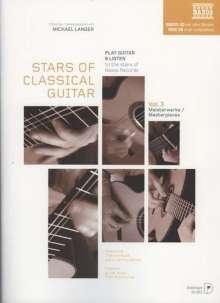 Diverse: Stars of Classical Guitar Vol. 3: Meisterwerke, Noten