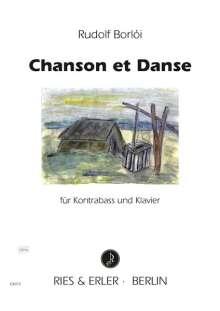 Rudolf Borloi: Chanson et Danse für Kontrabass und Klavier, Noten