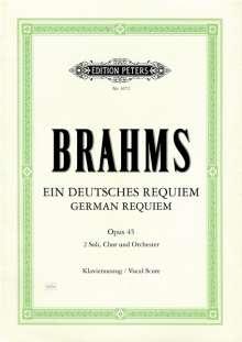 Brahms:Ein deutsches Requiem (Klavierauszug), Noten