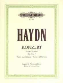 Joseph Haydn: Konzert für Violine und Orchester G-Dur Hob. VIIa: 4, Noten