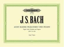 Johann Sebastian Bach: 8 kleine Präludien und Fugen BWV 553-560, Noten