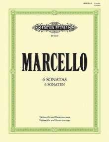 Benedetto Marcello: 6 Sonaten, Noten