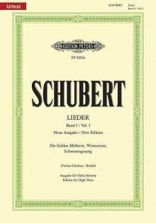 Franz Schubert: Schöne Müllerin op.25 D 795, Winterreise op.89 D 911, Schwanengesang op.23,3 D 957, h, Noten