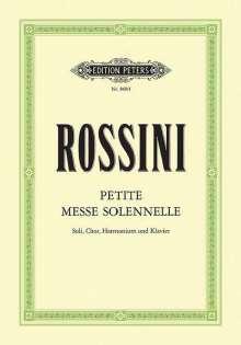 Gioacchino Rossini: Petite Messe solennelle, Noten