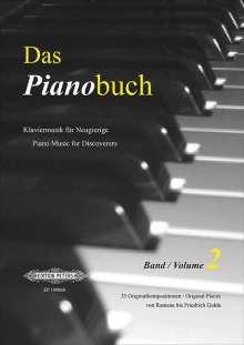 Verschiedene: Das Pianobuch, Band 2, Noten