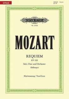 Wolfgang Amadeus Mozart: Requiem d-Moll KV 626 / SmWV 105 / URTEXT, Noten
