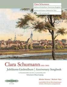 Clara Schumann: Jubiläums-Liederalbum -14 Lieder für mittlere / tiefe Singstimme und Klavier-, Noten