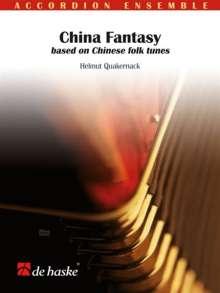 Helmut Quakernack: China Fantasy, Noten