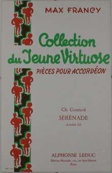 Charles Gounod: Serenade, Noten