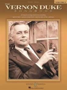 Vernon Duke: The Vernon Duke Songbook, Noten