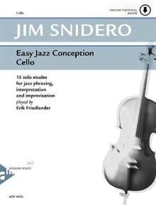 Jim Snidero: Easy Jazz Conception Cello, Noten