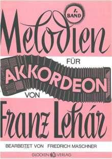 Franz Lehar: Melodien für Akkordeon, Noten