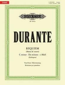 Francesco Durante: Requiem (Messa de' morti) c-Moll (Rom 1746), Noten