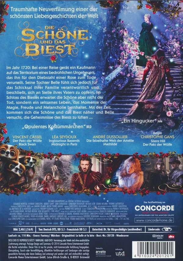 Die Schöne und das Biest (2014) (DVD) - WOM
