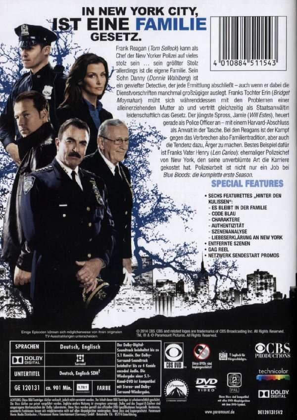 Blue Bloods Staffel 1